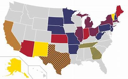 States Party Democratic Republican United Usa Map