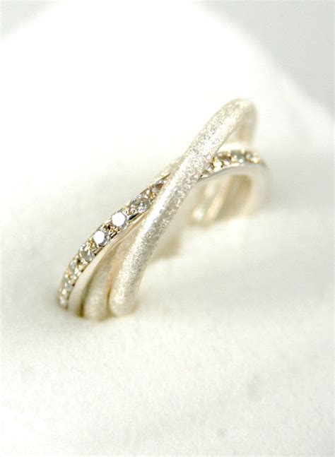 jewelry russian wedding bands engagement ring sterling silver handmade trinity