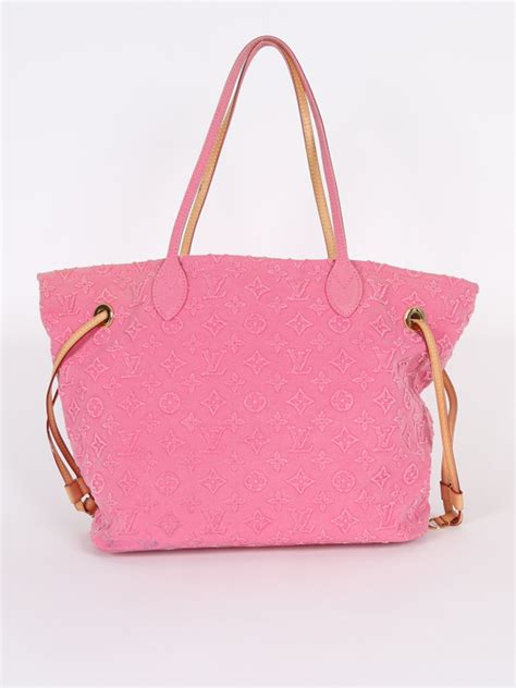 louis vuitton neverfull mm monogram stone pink luxury bags