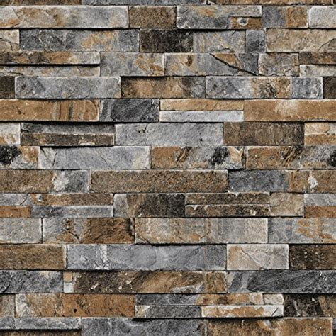 Faux Stone Wall Covering Amazoncom