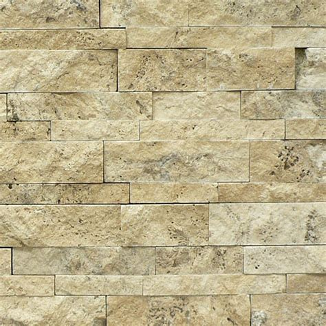 Green Backsplash Tile by New Product Picasso Travertine Split Face Cambria Strips