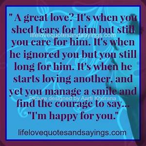 caring quotes and sayings quotesgram. love care quotes ...
