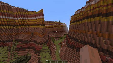 mesa savannah canyons  minecraft