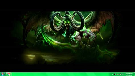 World Of Warcraft Animated Wallpaper - illidan stormrage animated wallpaper