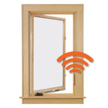 andersen  series casement verilock security sensors