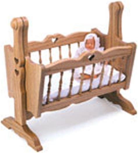 doll houses playsets doll cradle woodcraft pattern