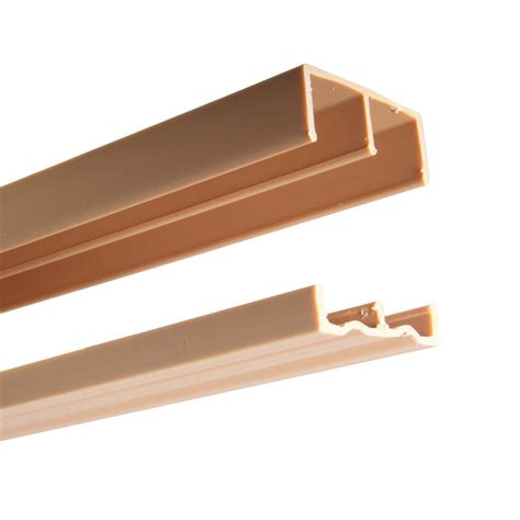 Plastic Sliding Cabinet Door Track by 2419 Series 72 In Plastic Door Track Assembly P2419
