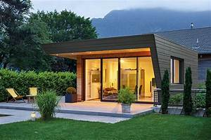 Gartenhaus Holz Modern : moderne gartenhauser zum wohnen alle ideen f r ihr haus design und m bel ~ Whattoseeinmadrid.com Haus und Dekorationen