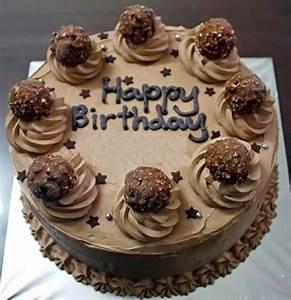 Happy Birthday Chocolate Cake - HAFACS