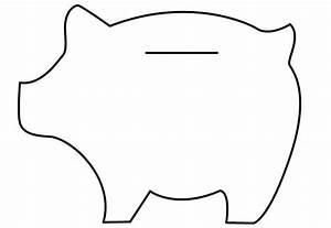 Felt piggy banks tutorial dream a little bigger for Piggy bank templates