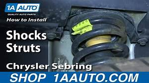 How To Install Replace Rear Shocks Struts 2001