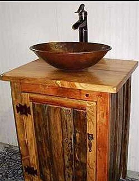 Rustic Sinks Bathroom by 301 Moved Permanently