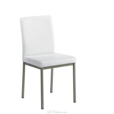 chaise de cuisine blanche chaise imitation cuir pour cuisine villa et chaises de