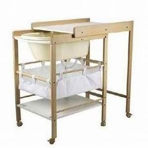 Accessoire Table à Langer : geuther table langer naturel avec baignoire hanna made ~ Teatrodelosmanantiales.com Idées de Décoration