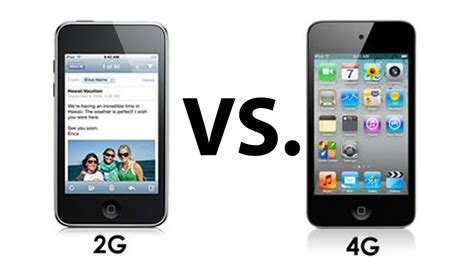 ipod vs iphone ipod touch 4g vs ipod touch 2g 1681