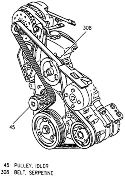 2006 Pontiac Montana Engine Diagram by Need A Diagram For The Serpentine Belt On A 1999 Pontiac