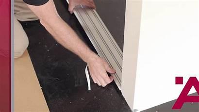 Sliding Track Door Floor Guide Bottom Installation