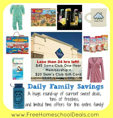 one gift for entire family daily family savings 45 sams club one year membership 20 sam s club gift card is