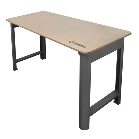Cabinet Table Saw Canada by Shop Kobalt 72 In W X 39 In H Wood Work Bench At Lowes Com