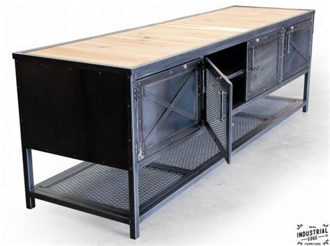 Custom Industrial Kitchen Island / Reclaimed Wood & Steel