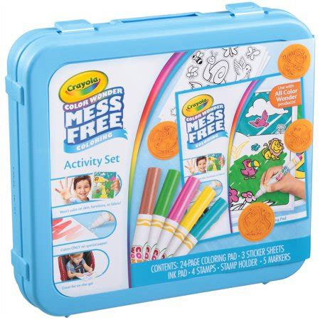 Crayola Color Wonder Mess Free Coloring Activity Set 38 pc