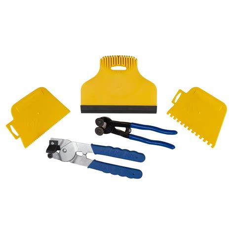 Glass Tile Nippers Home Depot by Qep Mosaic Tile Installation Kit 78225q 24 The Home Depot