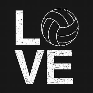 I, Love, Volleyball, Player, Graphic, -, I, Love, Volleyball
