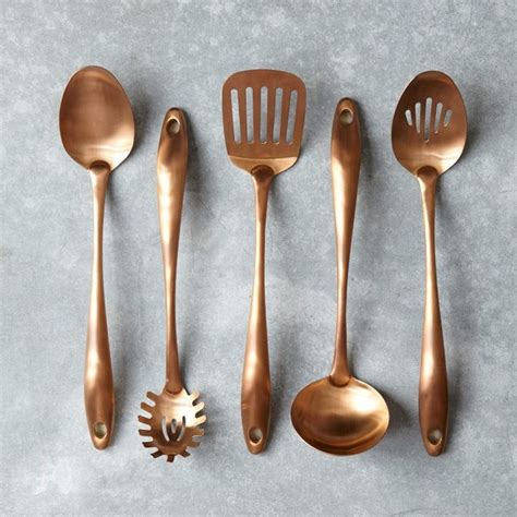 Copper Cook's Tools  Contemporary  Cooking Utensils By