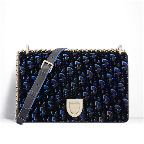 dior vintage monogram print bag  fallwinter  spotted fashion