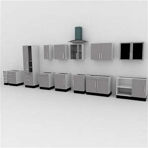 free download of kitchen cabinets o blender 3d architect With kitchen furniture 3d free
