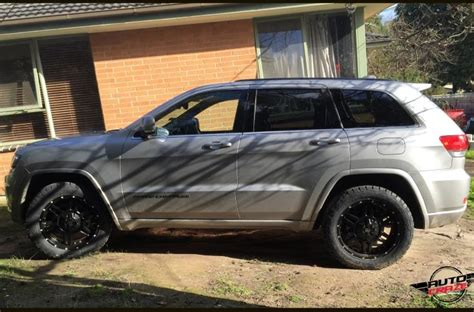 matte jeep grand cherokee jeep grand cherokee octobot matte black car gallery