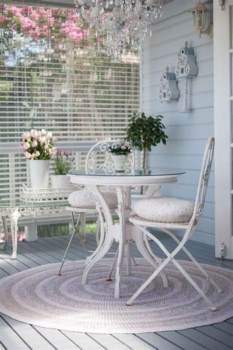 shabby chic terrace 27 shabby chic terrace and patio d 233 cor ideas shelterness