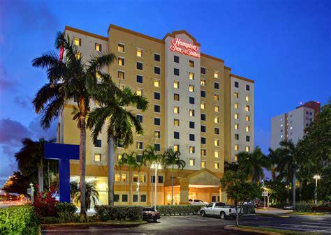 hampton inn suites miami airport blue lagoon miami fl
