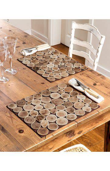 Tischsets Aus Holz holz tischset 2 set in braun 268300 dw shop