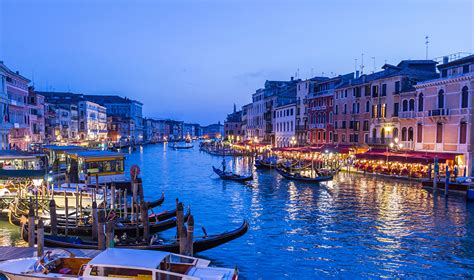 Canal Boat Italy by Photo Venice Italy Canal Berth Boats Cities Building