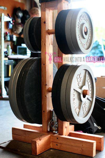 diy weight tree gym organizer diy home gym diy gym equipment