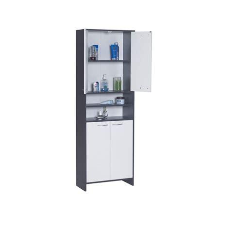 balance professionnelle cuisine meuble colonne salle de bain anthracite blanc 177 5cm