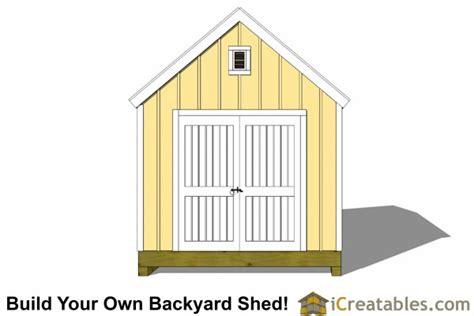 10 X 16 Colonial Shed Plans 10x16 colonial shed plans icreatables sheds