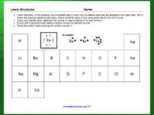 Worksheets Lewis Dot Diagrams Worksheet dot worksheet delibertad electron delibertad