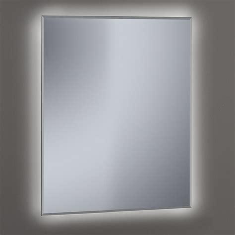 Miroir Salle De Bain Led Miroir Lumineux Led Salle De Bain Biseaut 233 60x80 Cm Khan
