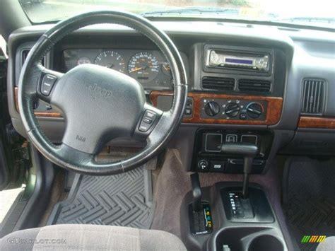 jeep grand cherokee dashboard 1996 jeep grand cherokee laredo 4x4 agate dashboard photo