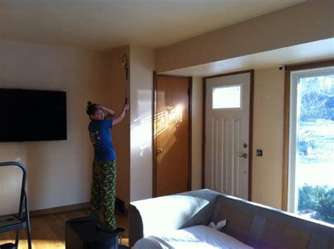 front door opens  living room layout  inviting