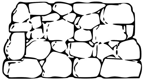 stone wall clipart clipart suggest