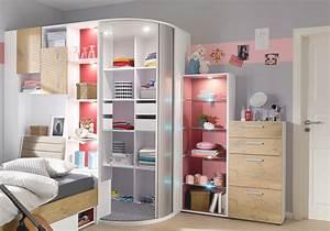 Jugendzimmer Für Mädchen : cool jugendzimmer mit begehbarem kleiderschrank bestellen ~ Michelbontemps.com Haus und Dekorationen
