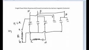 Single Phase Motor Reverse And Forward Connection