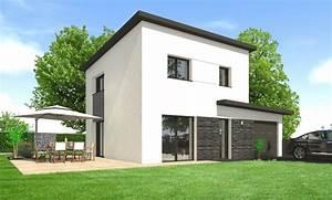 Maison En L Moderne : construire une maison moderne maisons clefs d 39 or constructeur bretagne ~ Melissatoandfro.com Idées de Décoration