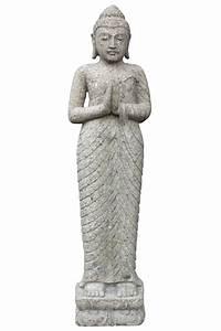 Buddha Bilder Gemalt : asiastyle stehender buddha indisch 120 cm h ~ Markanthonyermac.com Haus und Dekorationen