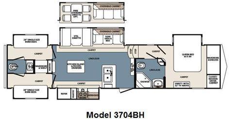 3 bedroom 5th wheel 5th wheel bunkhouse floor plans carpet vidalondon