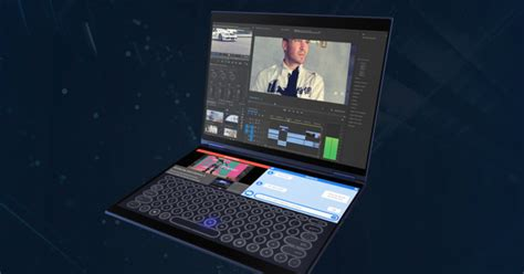 laptop test 2019 asus just built the dual screen laptop of the future coming 2019