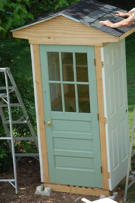 Diy Backyard Sheds by Diy Four Door Shed The Owner Builder Network